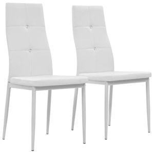 CHAISE Lot de chaises de salle à manger - Style contempor a6d472ffa77d