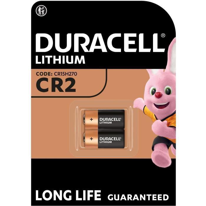DURACELL Spéciale Piles Ultra Lithium type CR2 x2