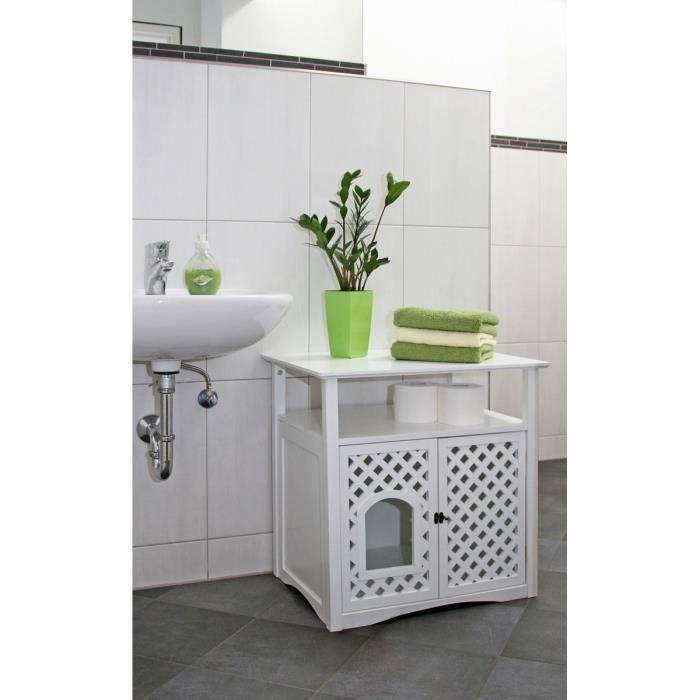 KERBL Armoire pour toilette à chat