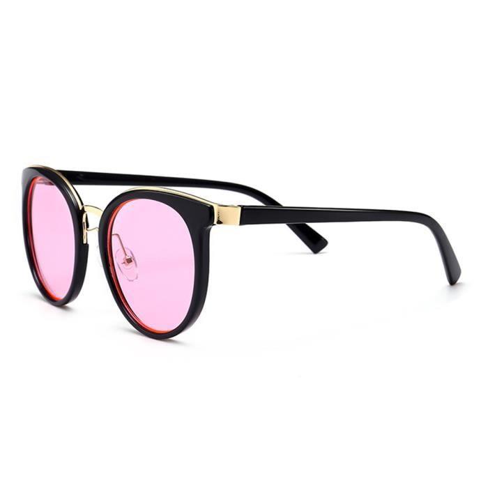 Magnifique femme sunglasses Rose Fashion soleil de Luxe marque de de  Lunettes Armature clair Moderne ETqIx ... bbd8ee168f52