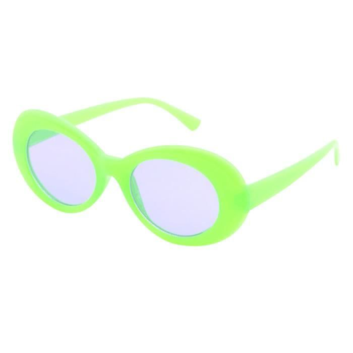 Deuxsuns®Retro Vintage Clout lunettes lunettes de soleil unisexe rappeur ovales lunettes grunge lunettes@zf594