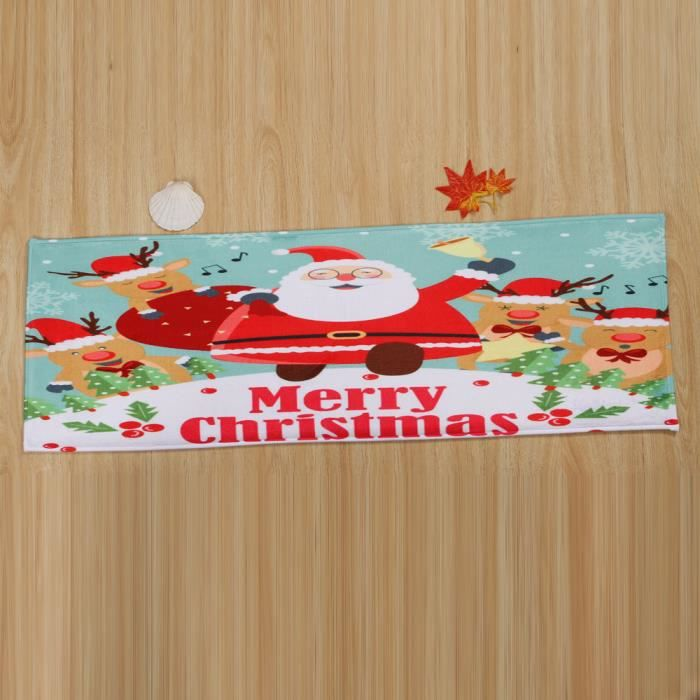 TAPIS Paillassons de bienvenue de Noël Intérieur maison