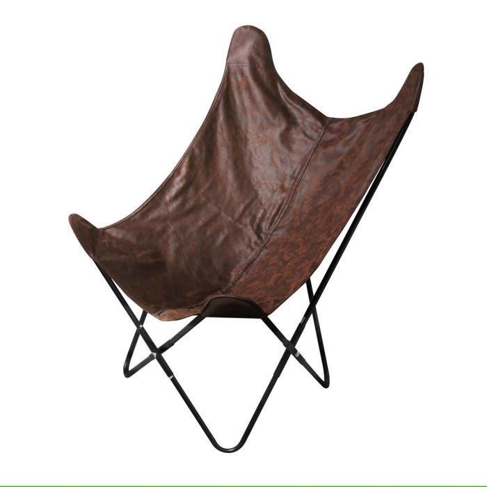 fauteuil papillon achat vente pas cher. Black Bedroom Furniture Sets. Home Design Ideas