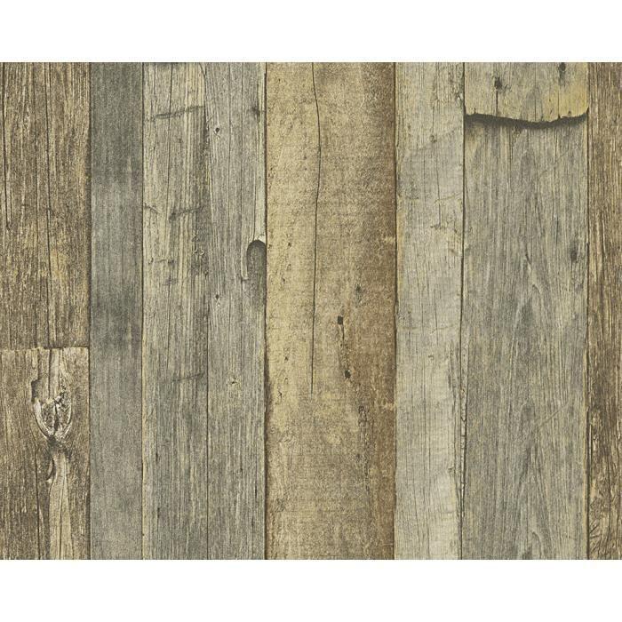 Papier Peint Intisse Dekora Natur 6 10 05 M X 0 53 M Brun