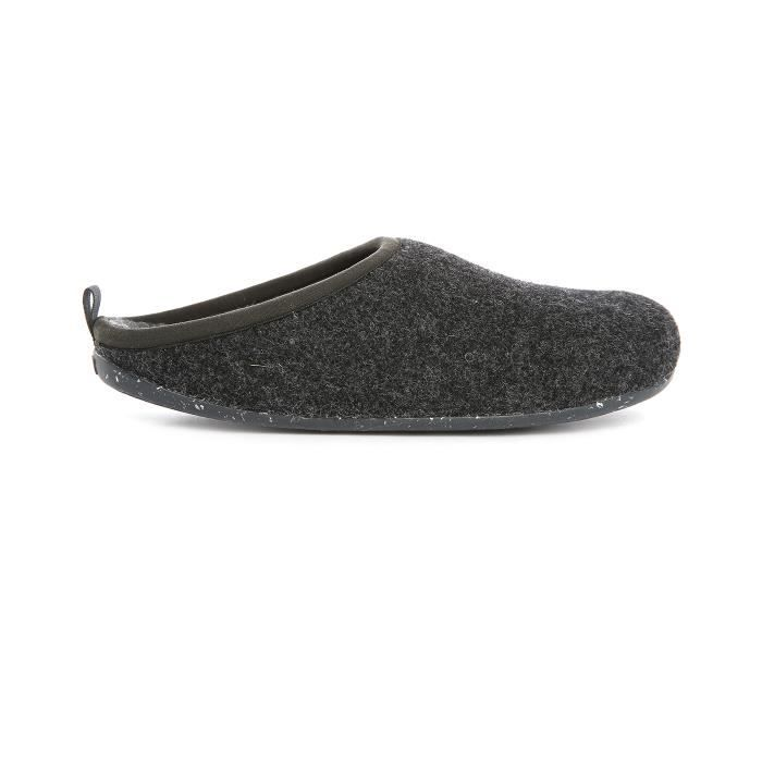 Chaussons gris anthracite Wabi pour homme