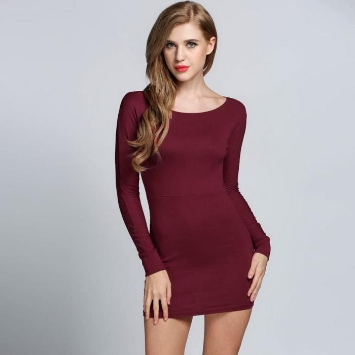 Robe épaule au femme sexyélastiques loin Finejo rwqr7xP1S