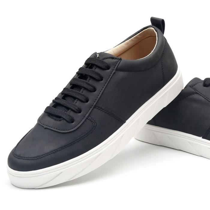 Les chaussures de loisirs homme basket mode noir gris kaki k1cf7vaTW