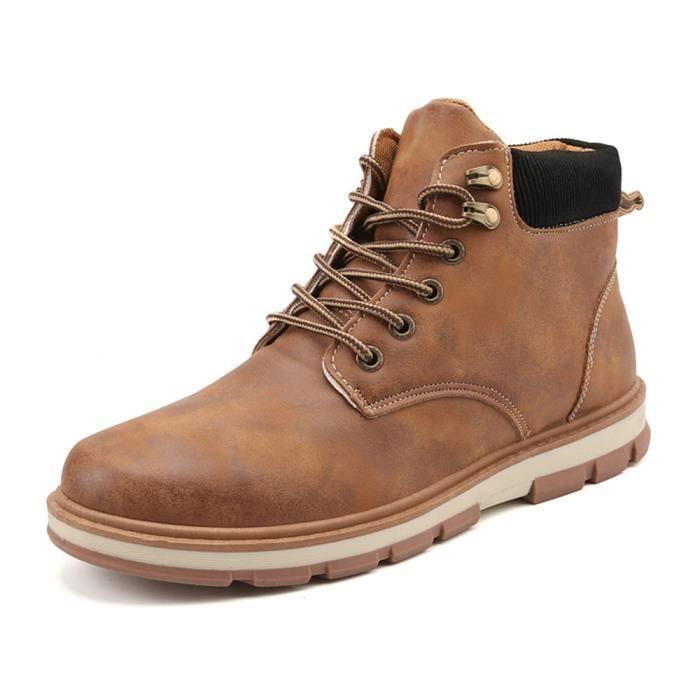 Bottes Homme Meilleure Qualité Mode Chaussure Confortable Respirant Botte Classique Champ Léger Durable Extravagant 39-44