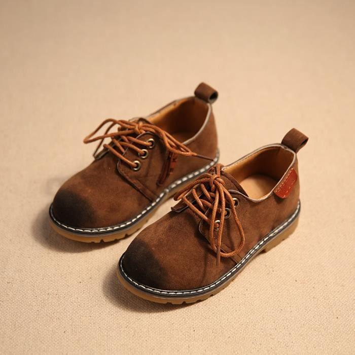 Bottes enfant basses chaussures fille garçon Rétro JzgdrH2ST3