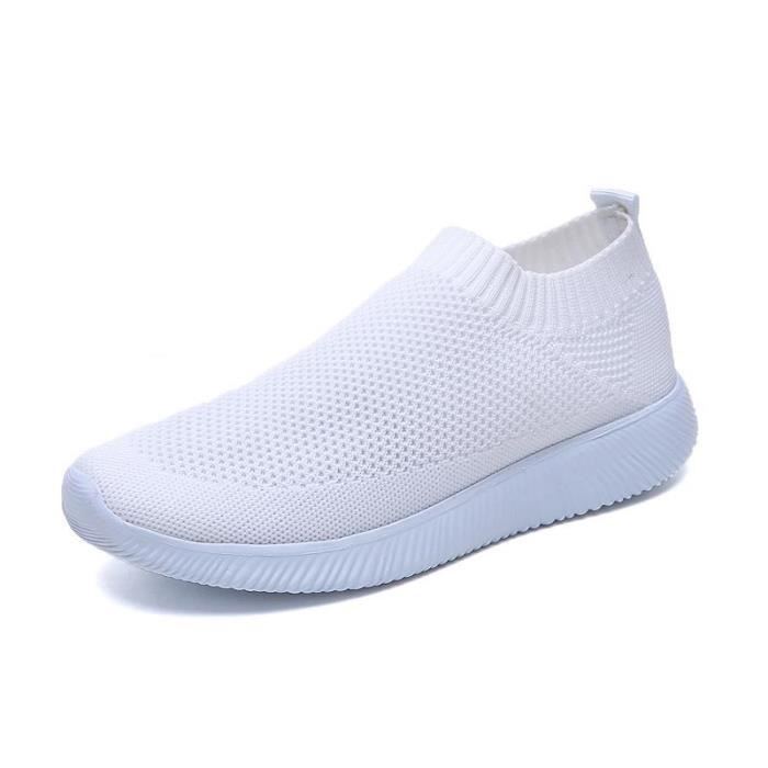 Chaussures Confortable Femme Fond 2019 Respirant Sneakers Mesh f6mbgy7YvI