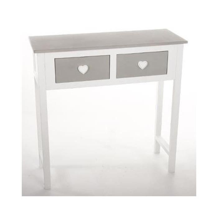 console petite largeur beautiful hauteur largeur profondeur cm with console petite largeur. Black Bedroom Furniture Sets. Home Design Ideas