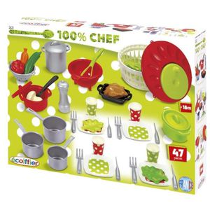 DINETTE - CUISINE ECOIFFIER CHEF Coffret Cooking