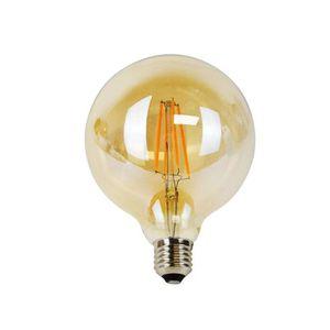 AMPOULE - LED Ampoule LED à Filament Vintage Globe G125 4W gold