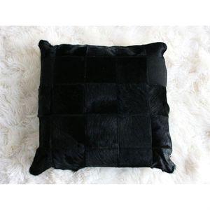 coussin peau de vache achat vente coussin peau de vache pas cher cdiscount. Black Bedroom Furniture Sets. Home Design Ideas
