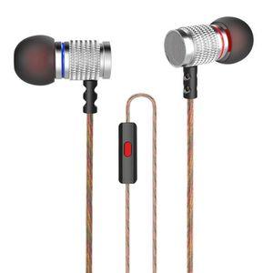 CASQUE - ÉCOUTEURS KZ EDR2 Mega Bass écouteurs intra-auriculaires HiF