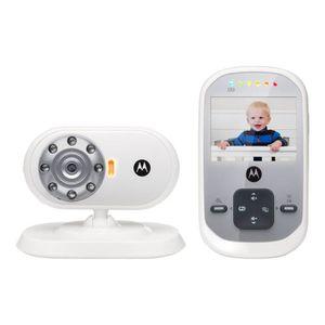 ÉCOUTE BÉBÉ MOTOROLA Ecoute bébé vidéo MBP622 - Ecran 2,4'' -