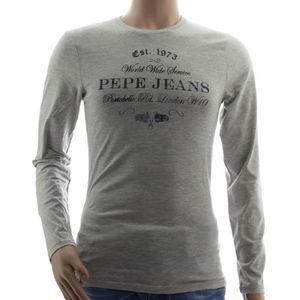 Pepe jeans homme t shirt gris - Achat   Vente pas cher 9605adb323e6