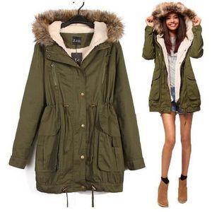 Manteau chaud pour l'hiver femme