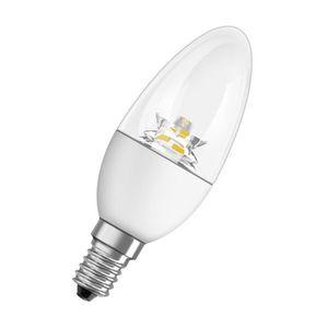 AMPOULE - LED OSRAM Ampoule Led E14 flamme claire blanc chaud 4W