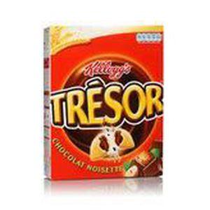 CÉRÉALES PETIT DEJ  Kellogg's céréales trésor chocolat noisette 400g