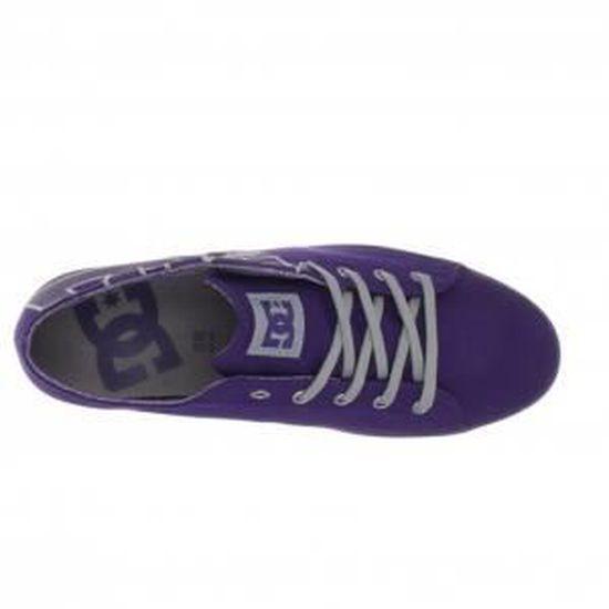 DC SHOES CLEO Parachute Purple Violet Violet - Achat / Vente skateshoes