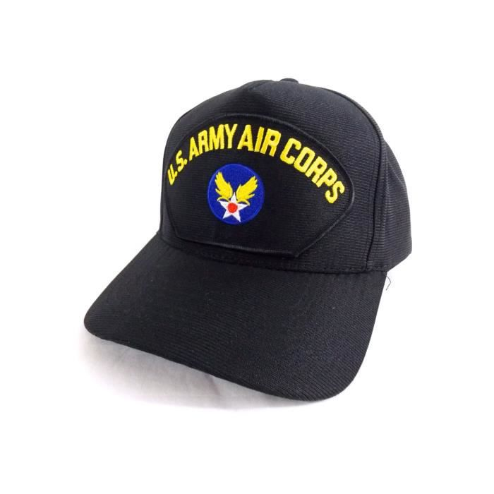 2b9eaf0706040 Authentique Casquette Militaire Americaine U.S Army Air Corps Made in USA