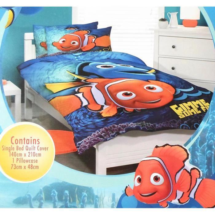 drap housse nemo Parure de lit enfant Le.Monde.de.Nemo. Finding.Nemo.   Achat  drap housse nemo