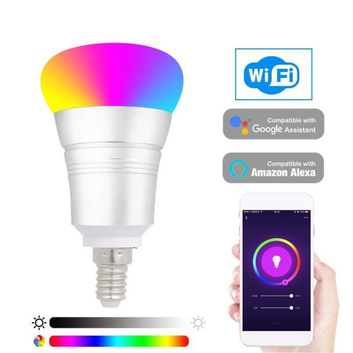 AMPOULE - LED 2104 Smart WIFI Ampoule LED WIFI Light RGB Ampoule