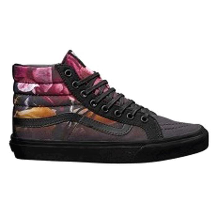 04240fa4348229 SK8 HI slim ombre floral VANS Noir - Achat   Vente skateshoes ...