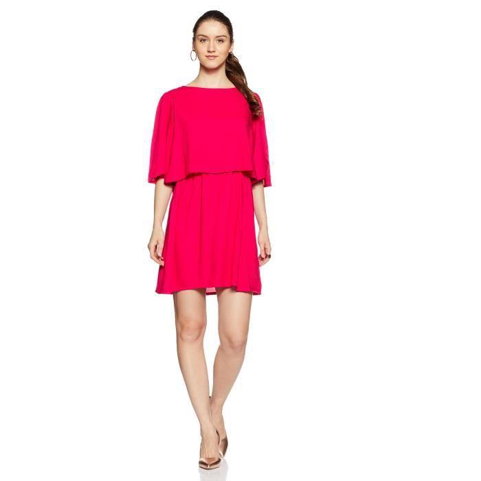Rayonne Robe plissée Femmes 1APQLB Taille-34