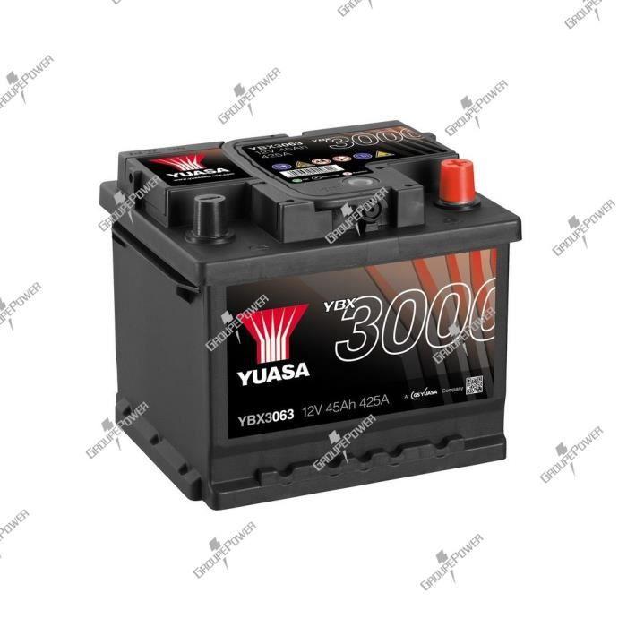 BATTERIE VÉHICULE Batterie auto, voiture YBX3063 12V 45Ah 425A Yuasa
