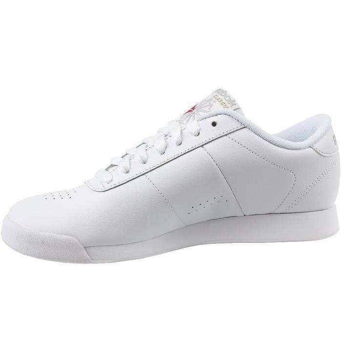 Reebok Princess CN2212 Femme Baskets Blanc