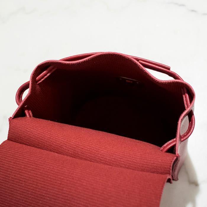 Téléphone Portable Petit Dedasing® Rouge Épaule Bonbons Rd Shopping love7356 Sac Couleur Une x76w0g