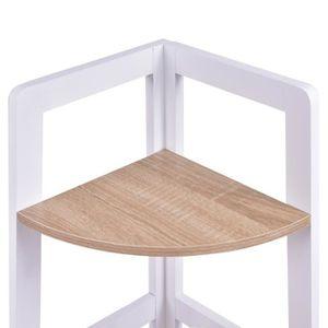 etagere d angle achat vente etagere d angle pas cher soldes d s le 10 janvier cdiscount. Black Bedroom Furniture Sets. Home Design Ideas