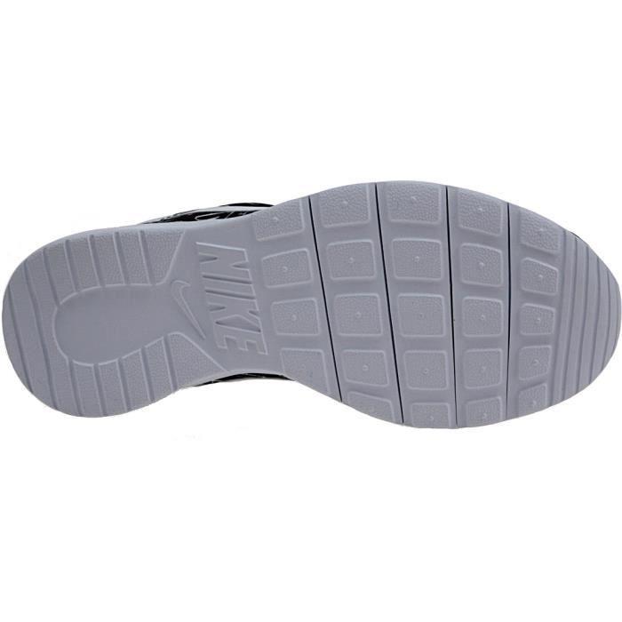 Nike Tanjun Print GS833668-003Enfant Baskets Blanc,Noir