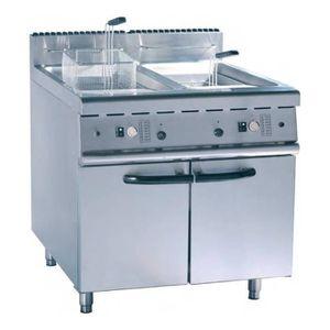 FRITEUSE ELECTRIQUE friteuse à gaz 2 x 22 Litres - 31 Kw