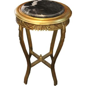 TABLE D'APPOINT Casa Padrino Baroque table d'appoint ronde or / no