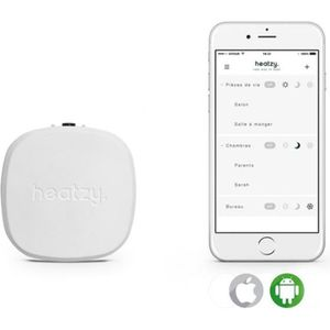 THERMOSTAT D'AMBIANCE Thermostat connecté pour chauffage électrique HEAT