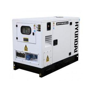 GROUPE ÉLECTROGÈNE HYUNDAI Groupe électrogène Diesel DHY9KSEm insonor