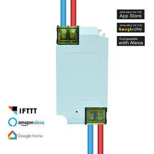 TÉLÉCOMMANDE DOMOTIQUE  WiFi Télécommande sans fil intelligente Commutateu