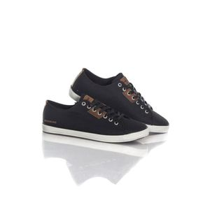 Fred Perry B721 Tricot Hommes Baskets Noir - 7 UK