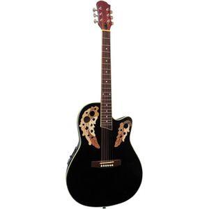 guitare electro acoustique pas cher achat vente. Black Bedroom Furniture Sets. Home Design Ideas
