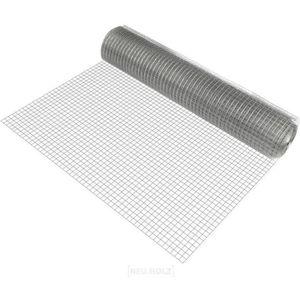 CLÔTURE - GRILLAGE pro.tec 1x rouleau grillage métallique (mailles ca