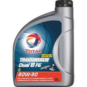 HUILE MOTEUR TOTAL Transmission lubrifiant Dual 8 Fe 80w90 - 2