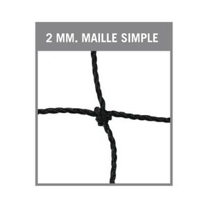 FILET VOLLEY-BALL Filet volleyball-cordeau-Maille simple de 100 mm