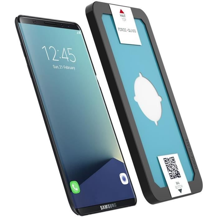 coque samsung s8 force glass