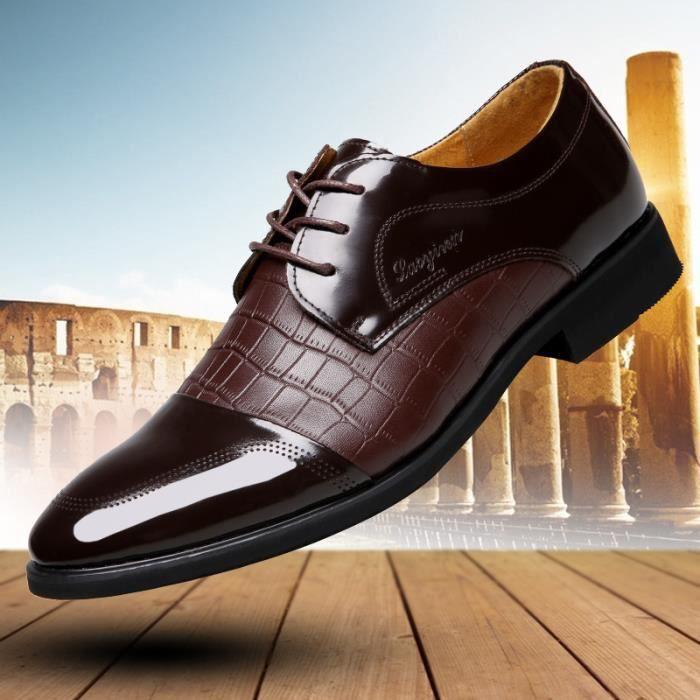 Chaussures de ville en cuir verni à lacets - Ho... 7DCftbXw