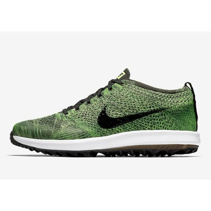 taille 40 0a8c6 704ce Nike Flyknit Racer G 909756 700 Mens Golf Shoes
