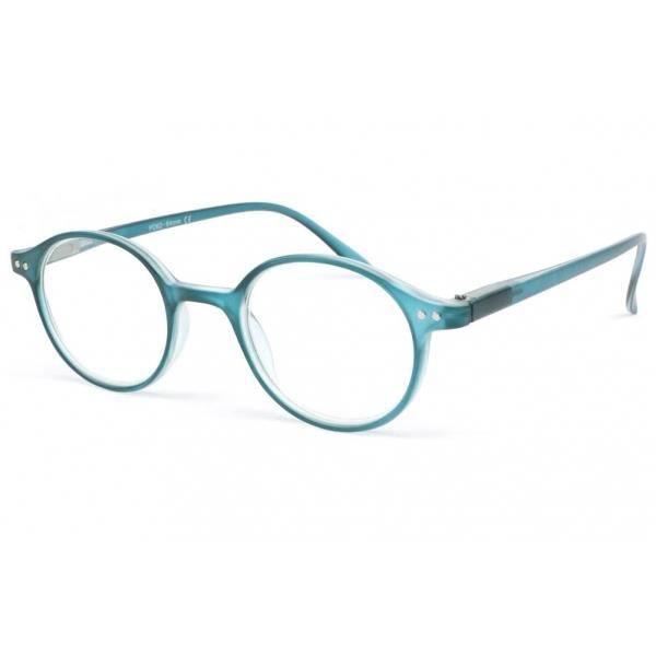 8729bf01bb377 LUNETTES DE LECTURE Lunette loupe ronde bleu transparent Flex - Bleu -