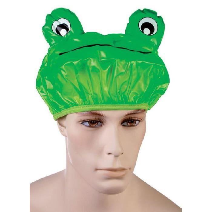 Bonnet de bain grenouille pvc achat vente chapeau - Bonnet de piscine original ...